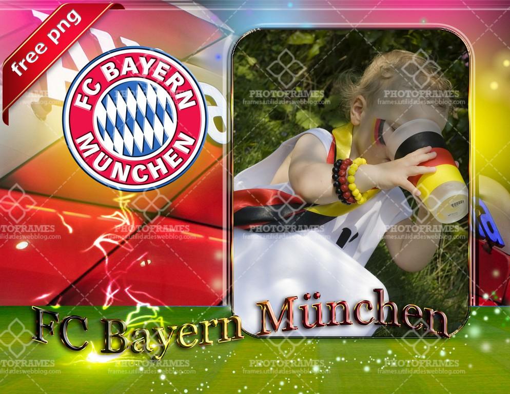 Marco para fotos del Bayern München