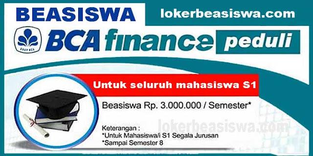 Beasiswa BCA Finance