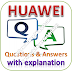HUAWEI Written Test: Aptitude, Technical; Questions and Answers with Explanations PDFs