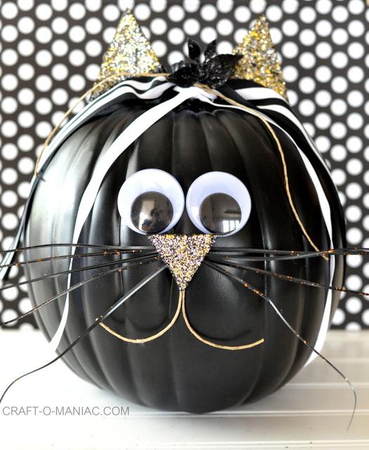 DIY Faux Decorated Pumpkins - Craft-O-Maniac