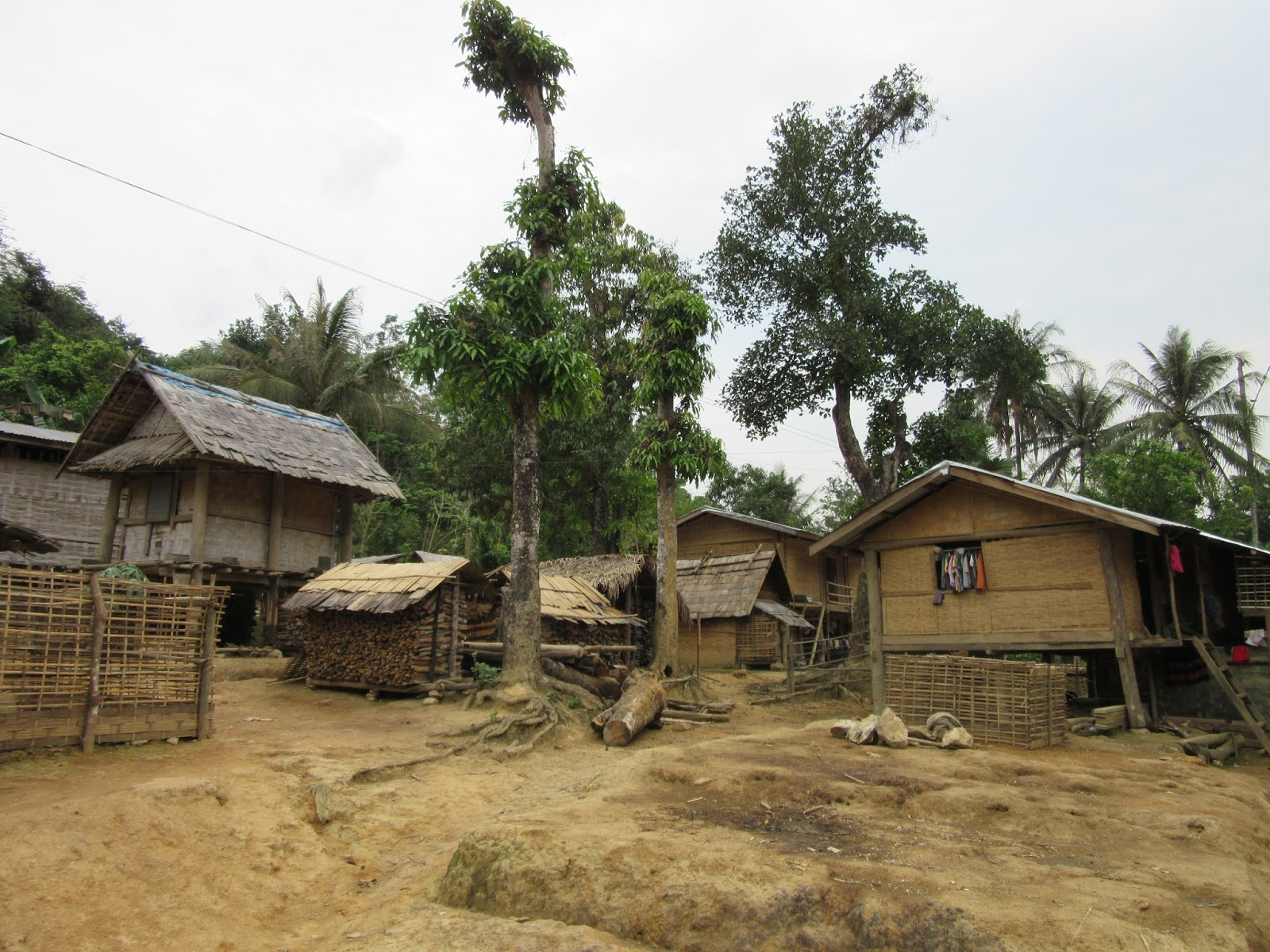 Aldea Houybor, cerca de Muang Ngoi, Laos