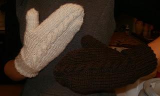 jak zrobić rękawiczki na 5 drutach