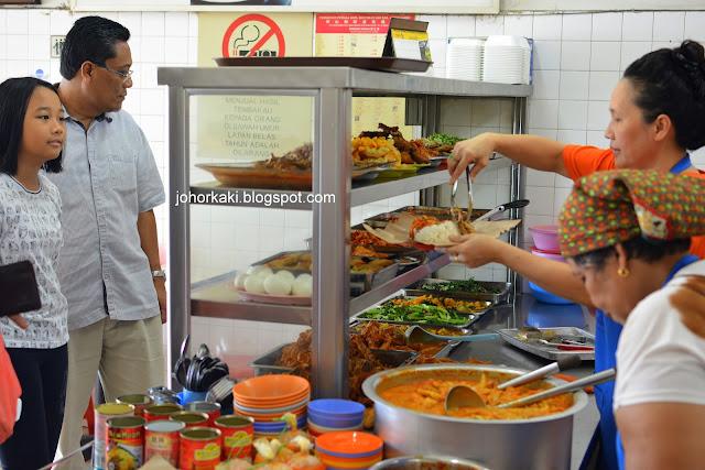 Nasi-Padang-Tampoi Johor-Bahru-巴东咖哩