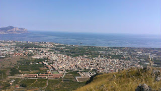 The town of Villabate, which overlooks the Gulf of Palermo