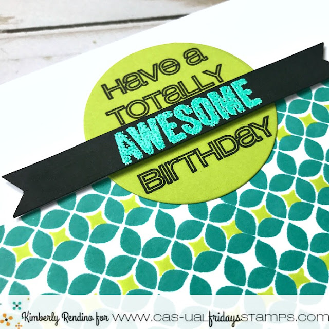 birthday card | modern petals | cas-ual fridays stamps | papercraft | cardmaking | clear stamps | handmade | kimpletekreativity.blogspot.com