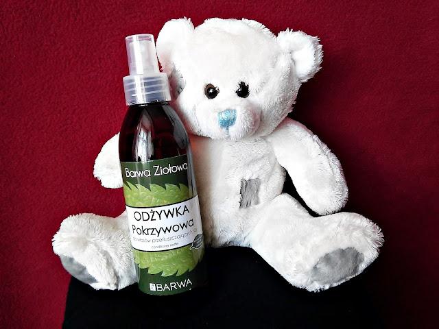 Barwa Ziołowa - Odżywka Pokrzywowa do włosów przetłuszczających się