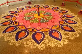 Rangoli Designs For Diwali Festival