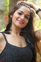 Aswini in lovely Deep Neck Sleeveless Black Dress Spicy Pics ~  Exclusive 20.JPG
