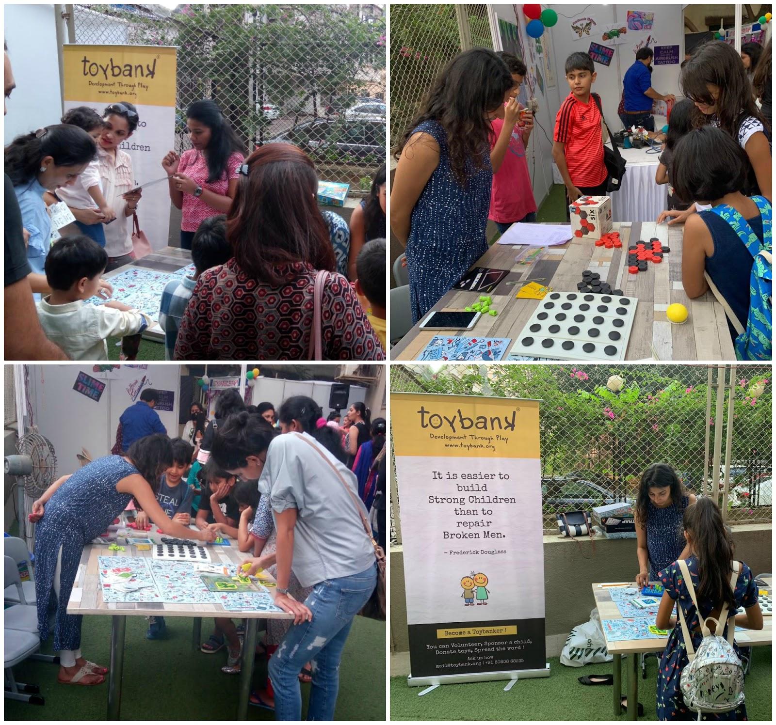 Board Games Stall at Aditiya Birla World Academy