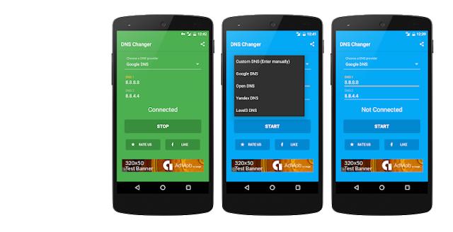 أفضل تطبيق لتغيير قيم ال DNS وتسريع الأنترنت و جعل التصفح آمن