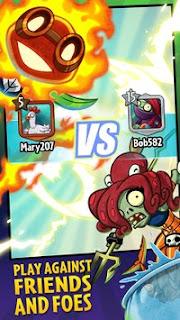 Download Plants vs Zombies Heroes V1.8.23 MOD Apk Terbaru