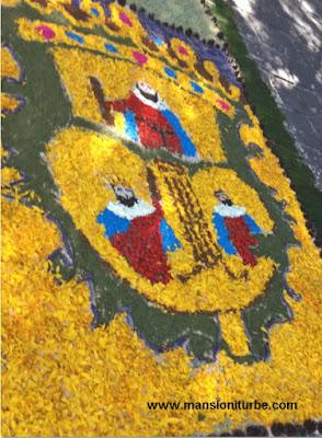 Escudo de Armas de Morelia elaborado por artesanos de Patamban