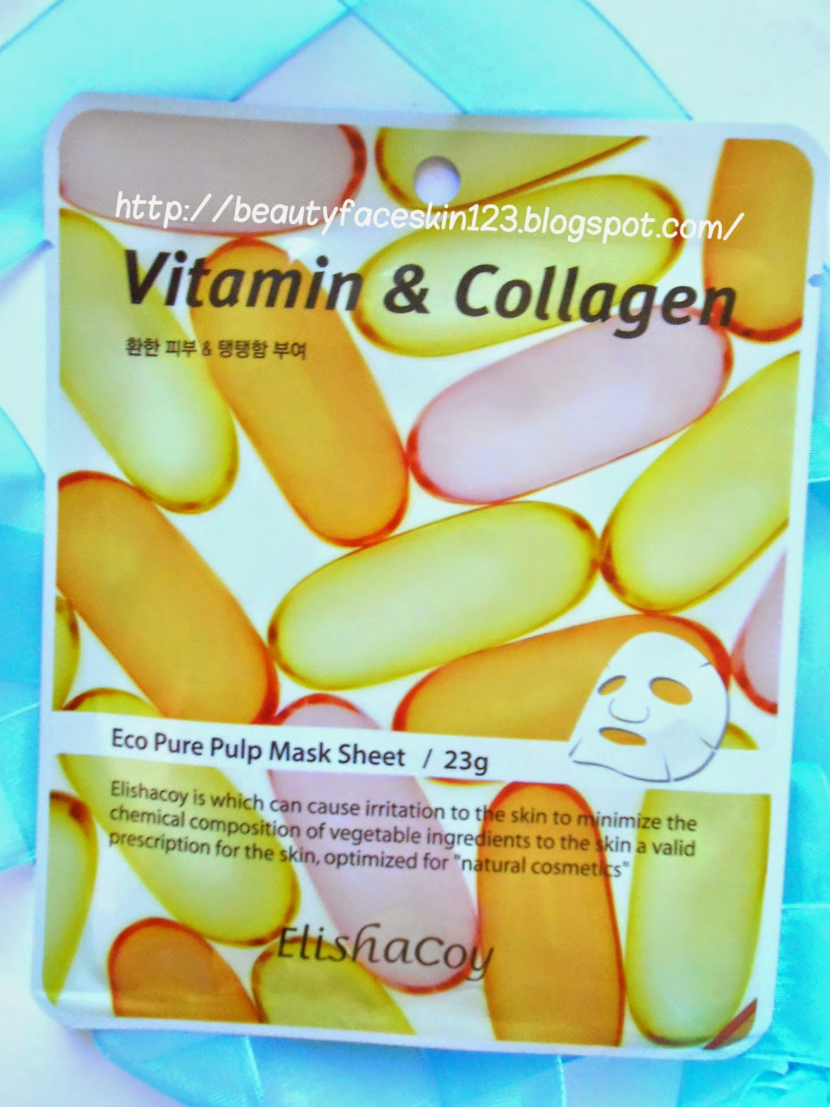 ELISHACOY VITAMIN&COLLAGEN MASK SHEET