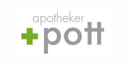 Nie-mehr-Schuppen-Apotheker-Pott-Logo