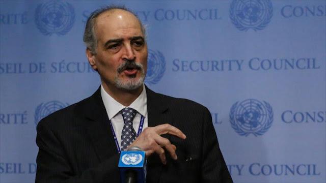 Siria denuncia silencio mundial ante crímenes de guerra israelíes