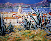 "Our November inspiration is by Arthur Baker Clack called ""The Citadel, St Tropez""."