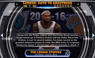 NBA 2K14 LeBron Path to Greatness Coming to PC