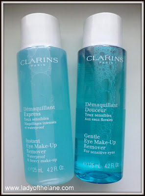New Clarins Eye Make Up Removers