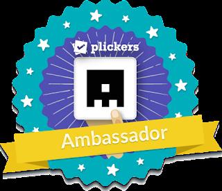 Plickers Ambassador badge