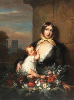 Подборка живописи  «Материнство в живописи»