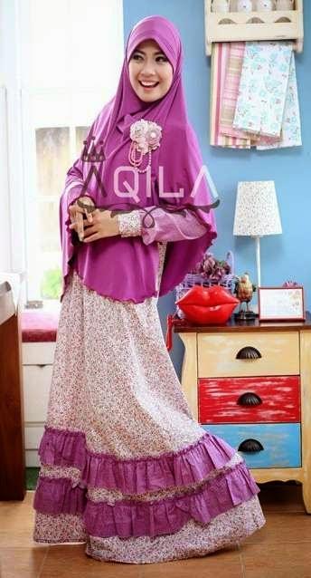 Model baju muslim syar'i modis remaja