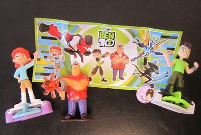 Ben 10 Kinder Surprise toys