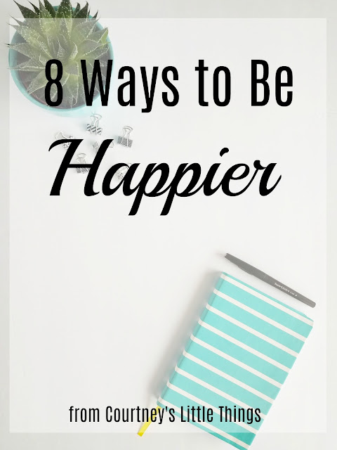 8 Ways to be Happier