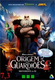 A Origem Dos Guardiões Dublado - DVDRip