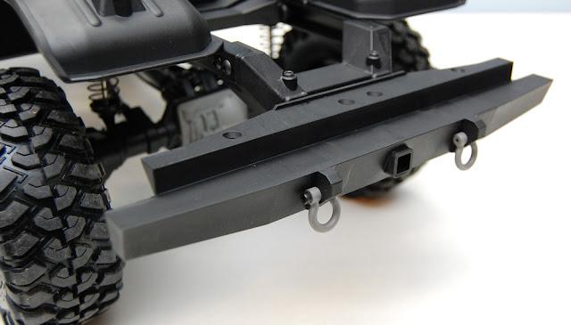 Traxxas TRX-4 chassis rear bumper
