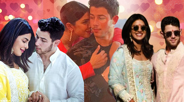 Priyanka Chopra and Nick Jonas stun in Manish Malhotra outfits for pre-wedding festivities