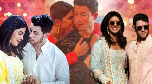 Priyanka Chopra and Nick Jonas stun in Manish Malhotra outfits for pre-wedding festivities