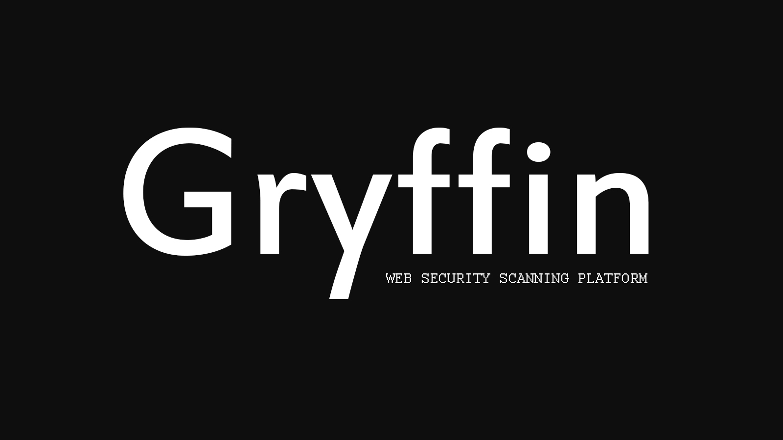 Gryffin - Web Security Scanning Platform