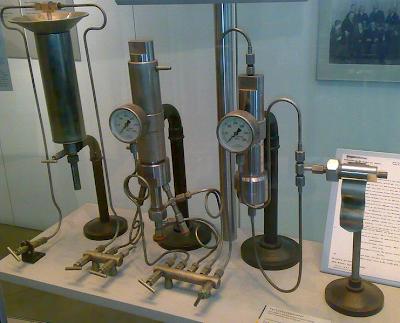 aparelho laboratorio utilizado fritz haber sintese amonia