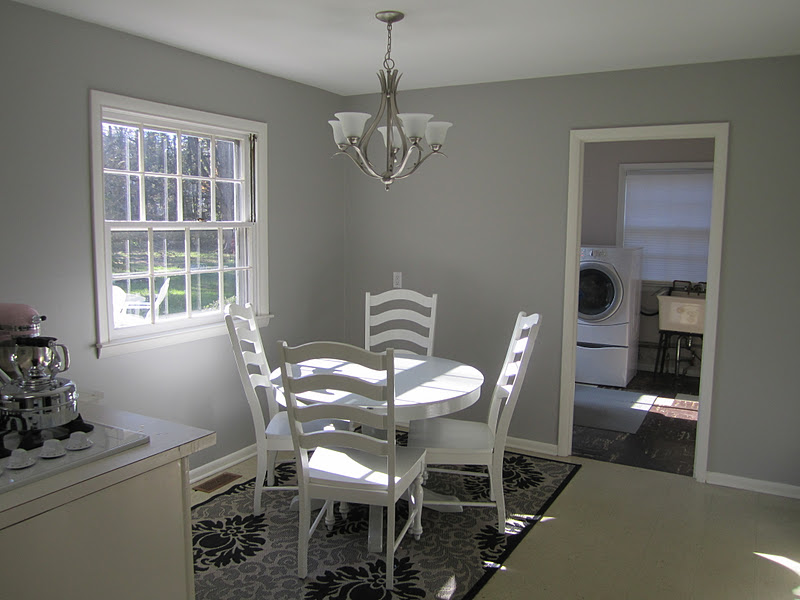 Swoon style and home kitchen and den paint check woo hoo - Sherwin williams comfort gray living room ...