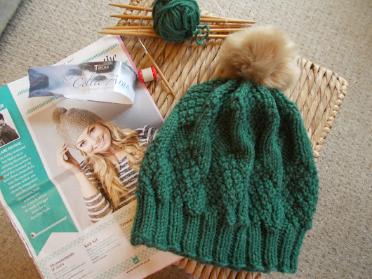 Knitting Knotes - Celtic Beanie