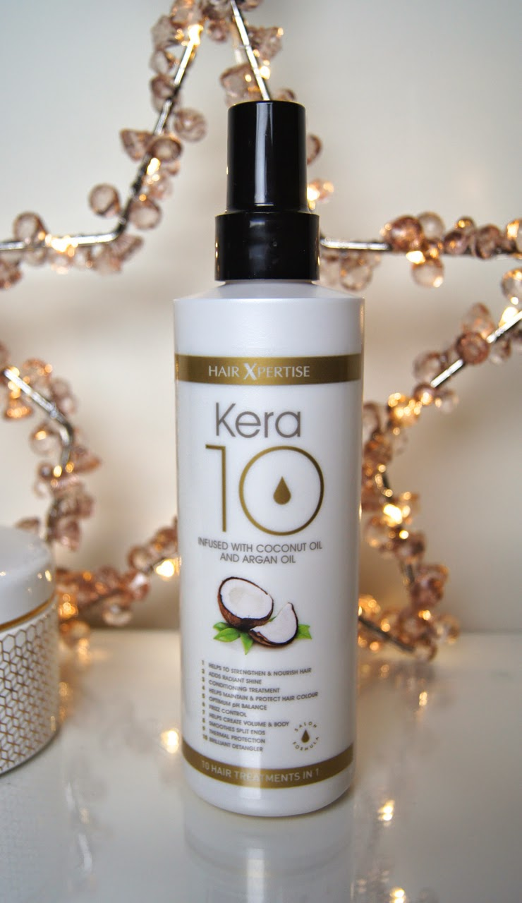 hair xpertise kera 10 leave-in conditioner hair treatment review