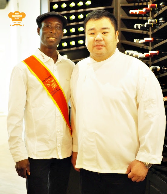 A French Gastronomic Journey with Champignons Chef Kinimo and Chef Gary Chang