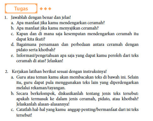 Kunci Jawaban Modul Bahasa Indonesia Kelas 11 Xi Revisi 2017 Halaman 78