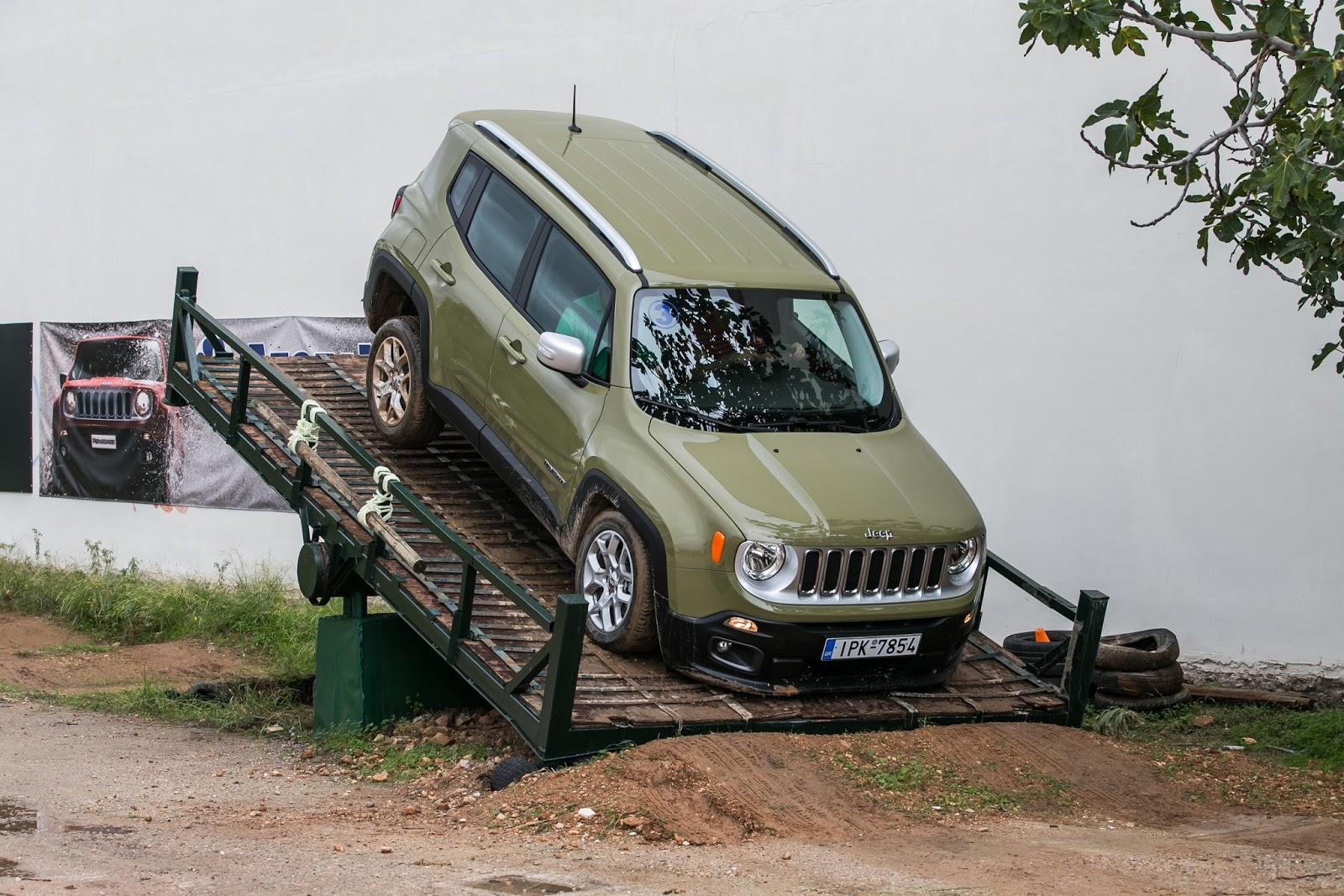 KF 1554 Πετάμε ένα Jeep Renegade σε λάσπες, πέτρες, άμμο, λίμνες. Θα τα καταφέρει; Jeep, Jeep Renegade, Renegade, SUV, TEST, zblog, ΔΟΚΙΜΕΣ