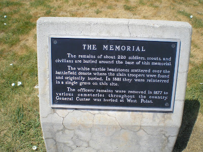 The Road Genealogist Little Bighorn Battlefield National