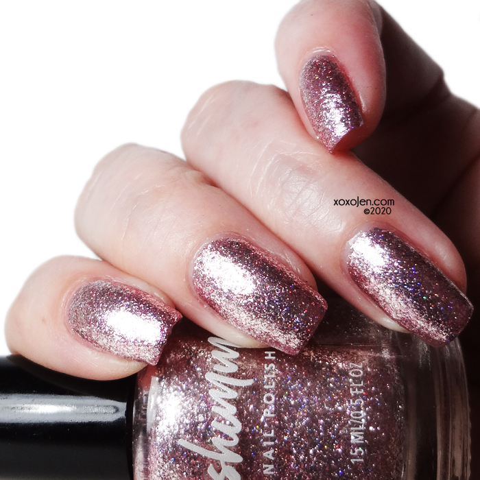 xoxoJen's swatch of KBShimmer Isle Drink To That