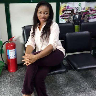 Update: Photos of the Globacom staff stabbed to death by her husband in Bayelsa State, a month after their court wedding