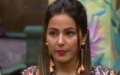 Another Shocking Move By Hina Khan in Bigg Boss 11