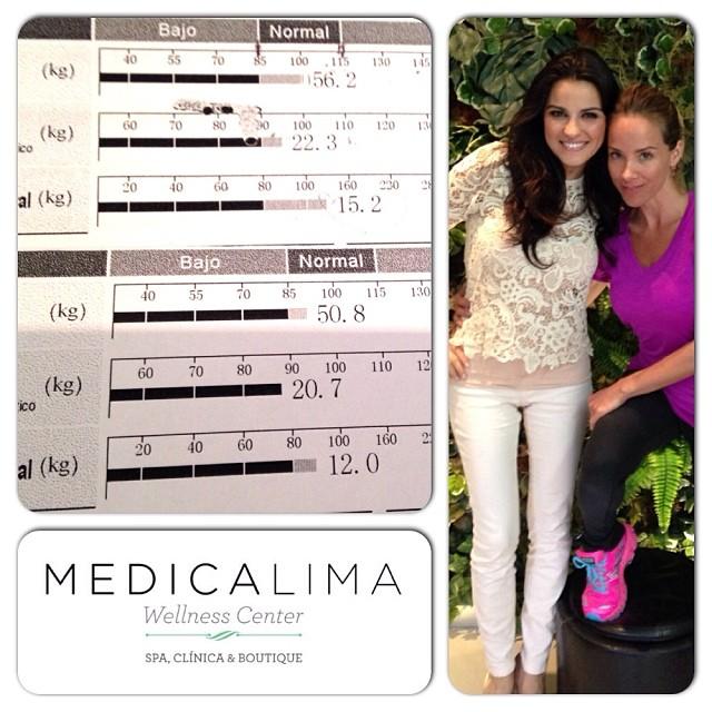 Maite Perroni y su health coach