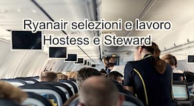 Selezioni compagnia aerea Ryanair