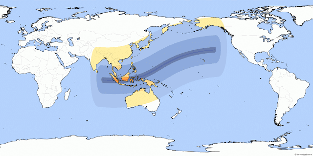 Lintasan Gerhana Matahari Total 2016 di Indonesia
