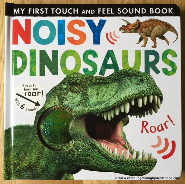 Noisy Dinosaurs by Little Tiger Press - Book Review