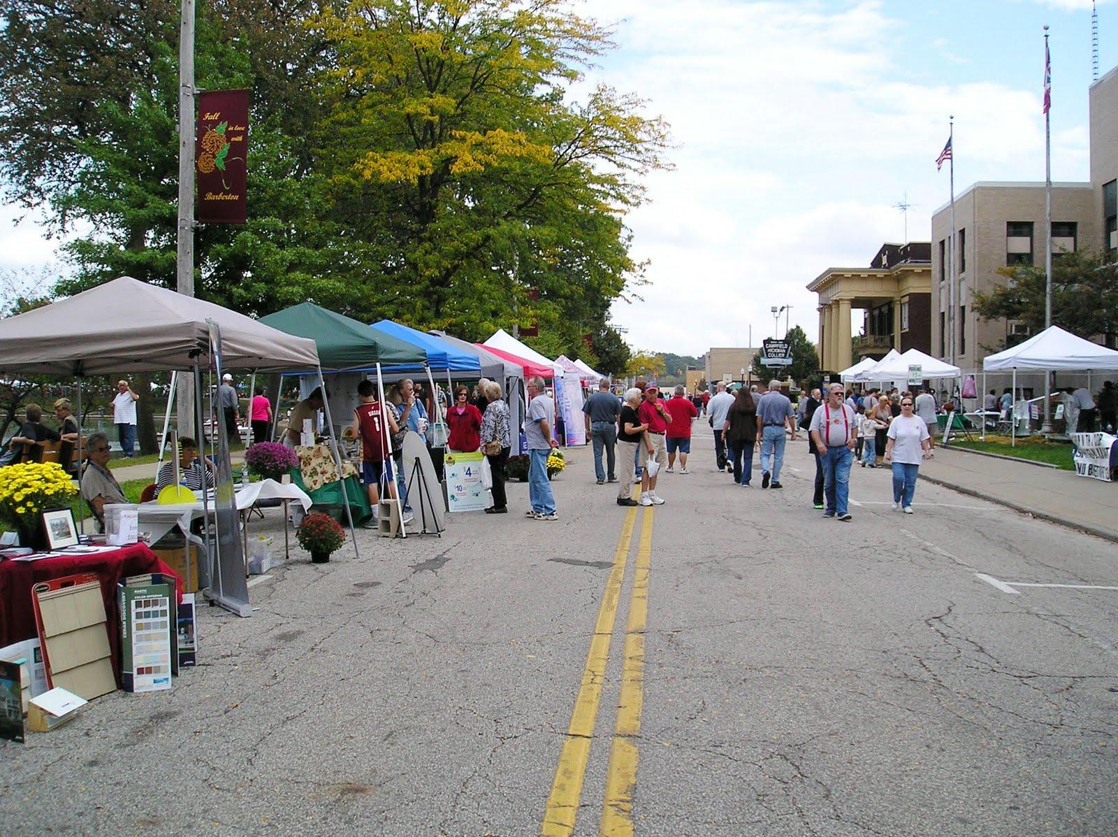 57 Barberton Mum Fest Review September 25 2011 Ohio Festivals