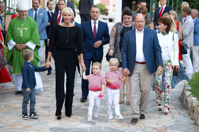 Prince Jacques and Princess Gabriella Wear Façonnable and Adidas