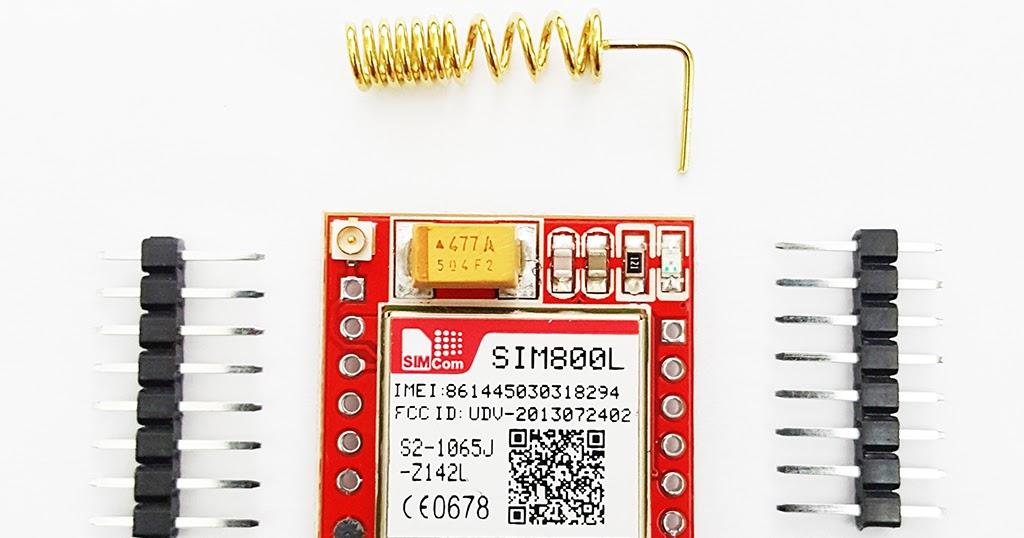 SIM800L GSM/GPRS Module to Arduino | Belajar Arduino